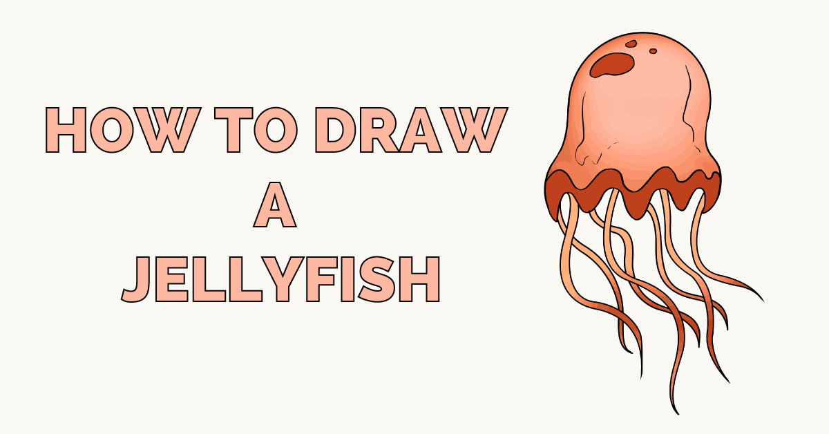 How to Draw a Jellyfish Featured image