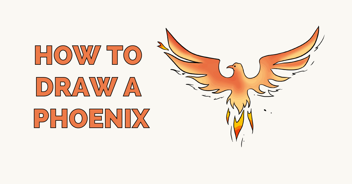 How to Draw a Phoenix Featured image