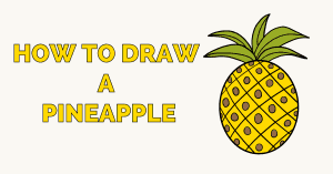 How to Draw a Pineapple Featured image