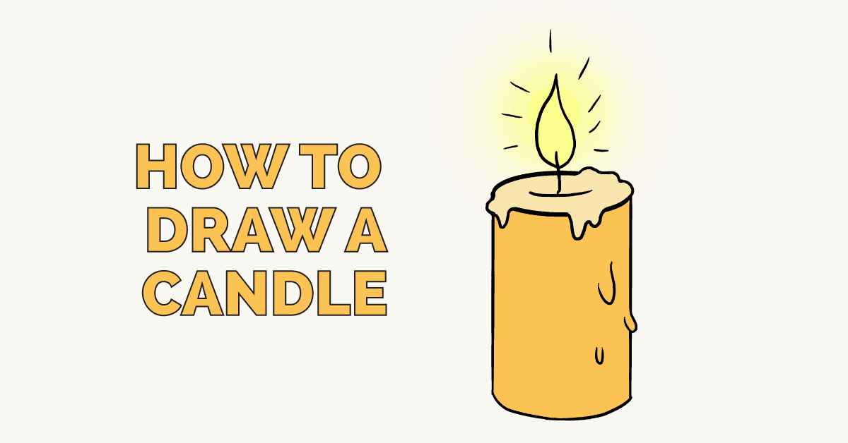 How to draw a candle featured image
