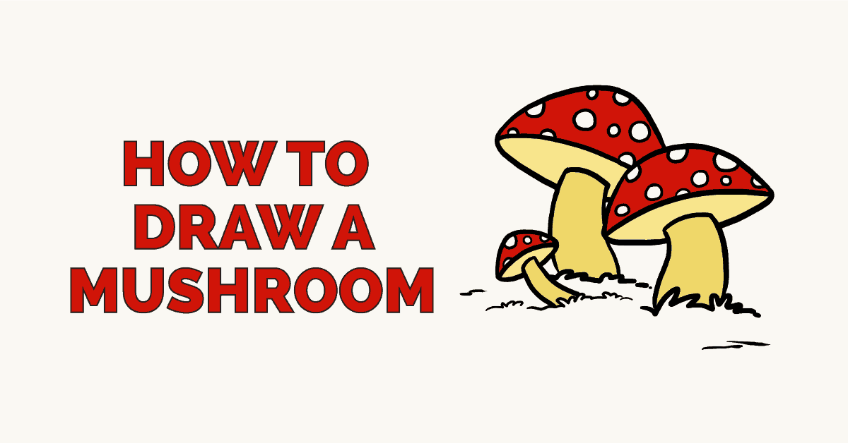 How to Draw a Mushroom: Featured image