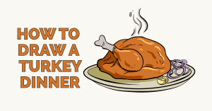 How to Draw a Turkey Dinner: Feature image
