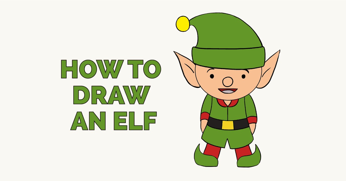 How to draw an elf: Featured image