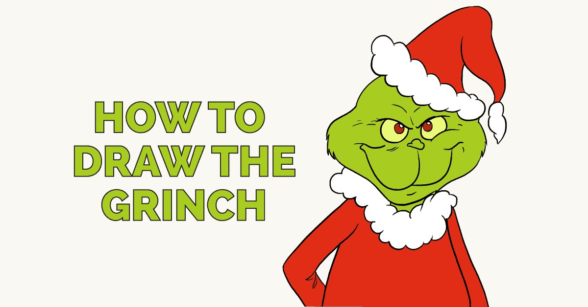 How to Draw the Grinch: Featured image