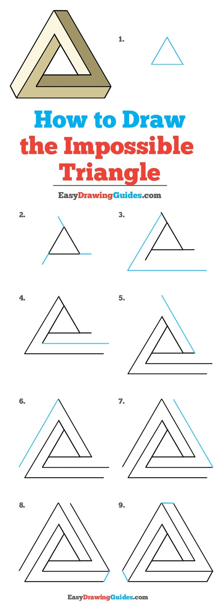 How to Draw Impossible Triangle