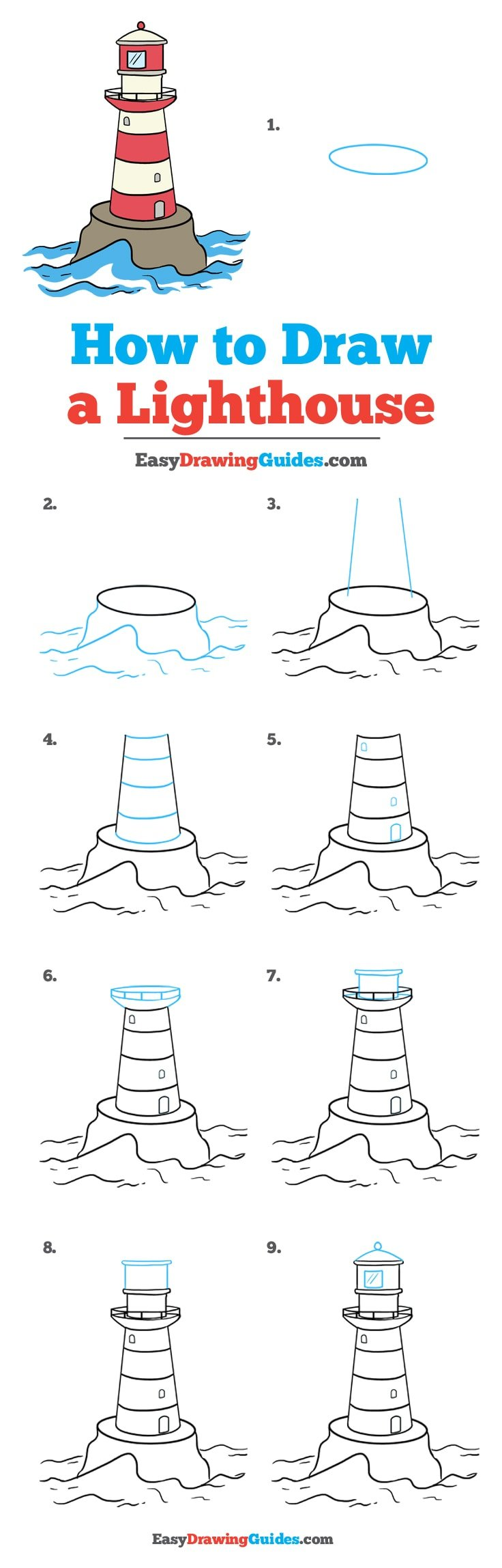 How to Draw Light House