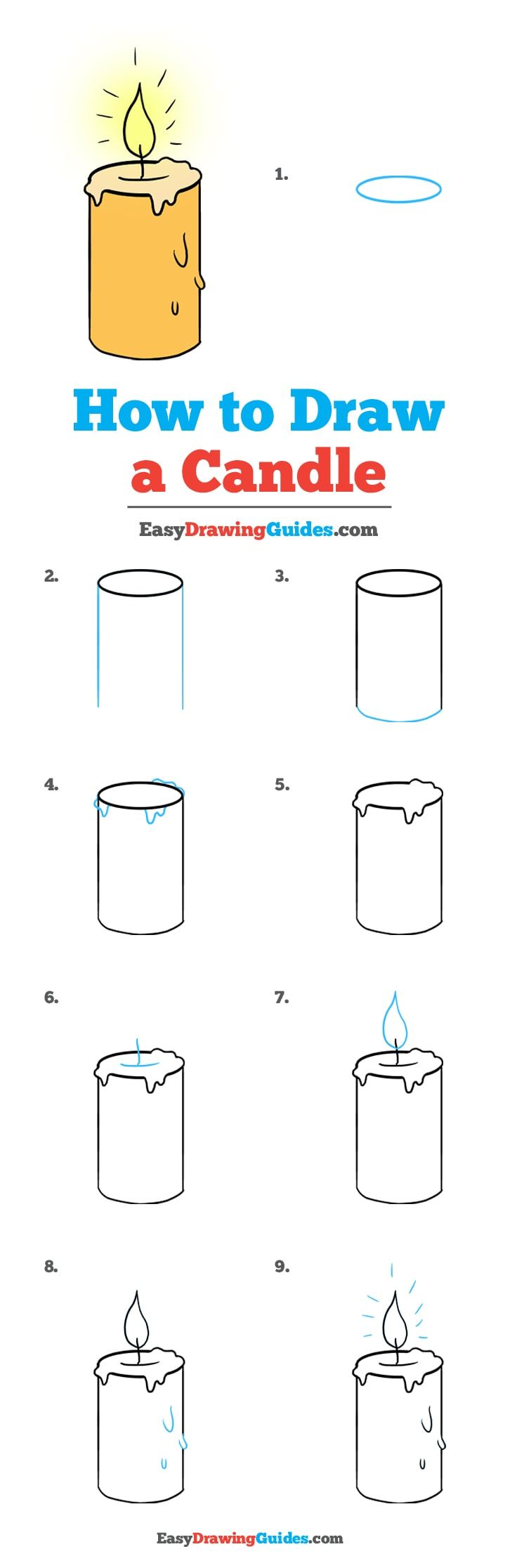 How to Draw Candle