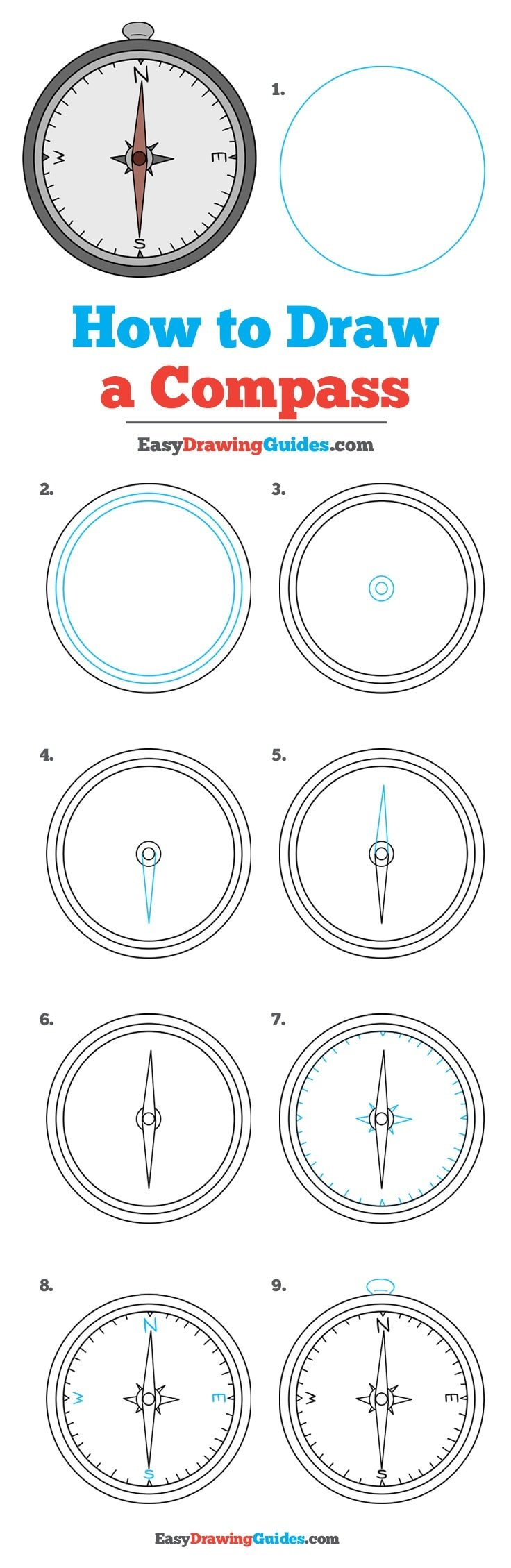 How to Draw Compass