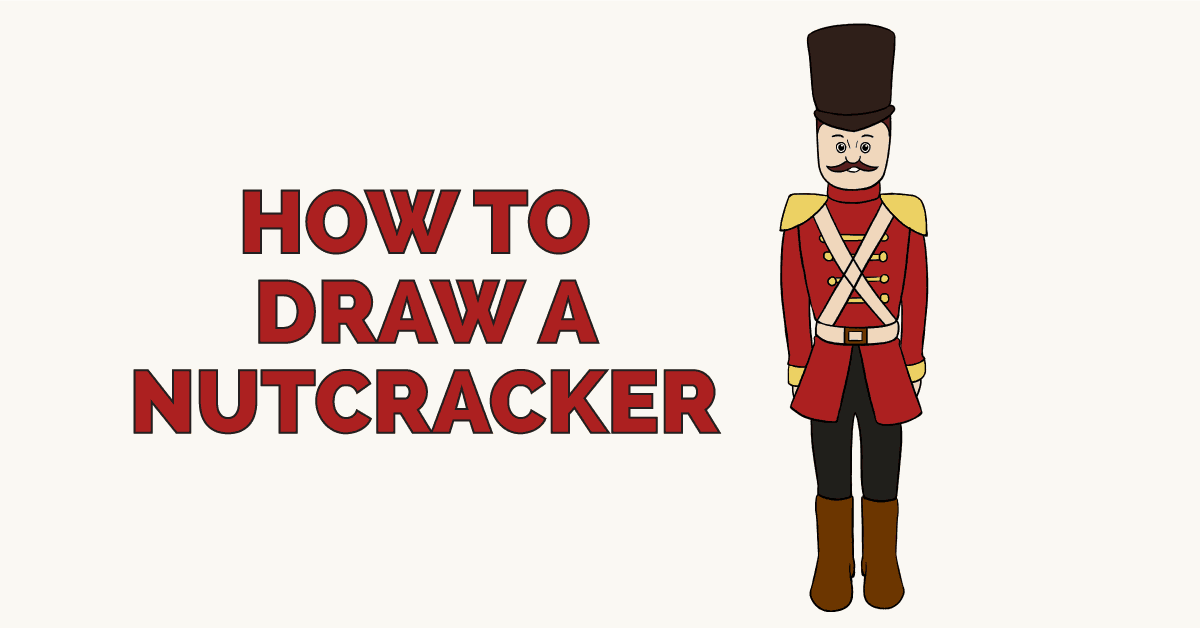 How to draw a nutcracker featured image