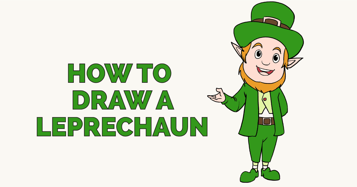 How to draw a leprechaun really easy drawing tutorial how to draw a leprechaun featured image altavistaventures Images
