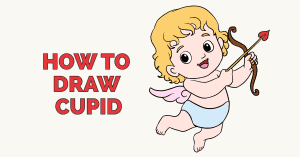 How to Draw Cupid - featured image