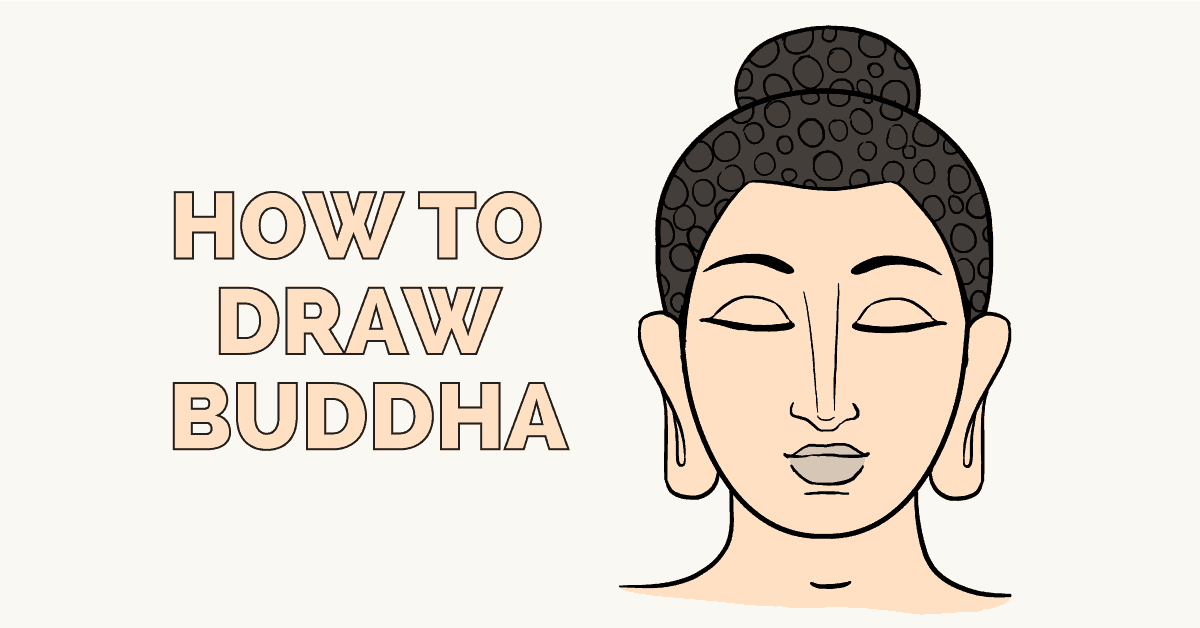How To Draw Buddha Really Easy Drawing Tutorial
