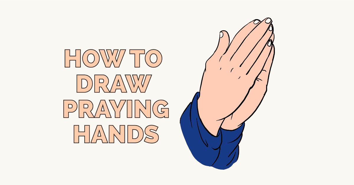 How to Draw Praying Hands: Featured Image