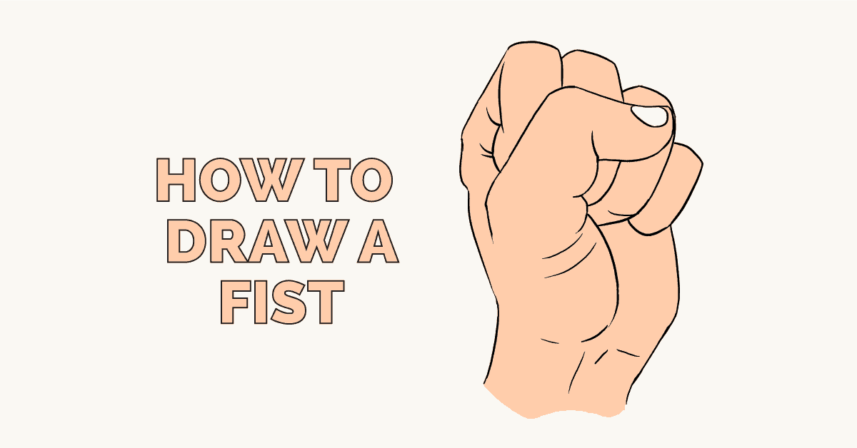 How to Draw a Fist: Featured Image