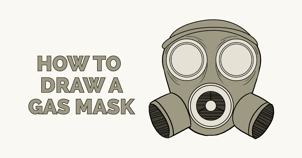 How to Draw a Gas Mask: Featured Image
