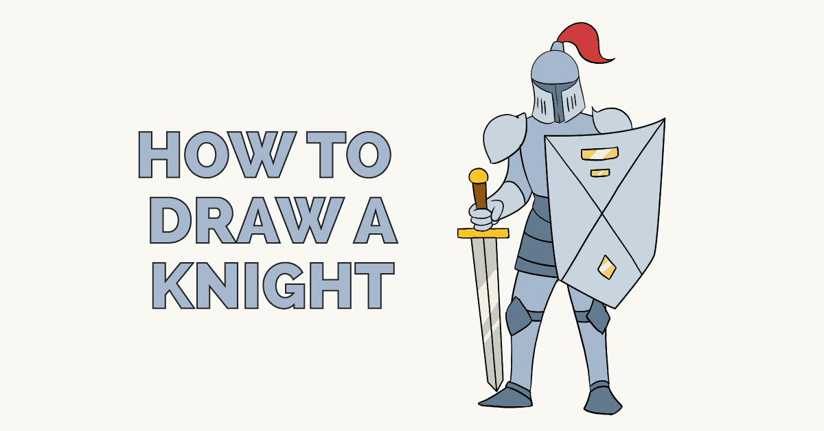 How to Draw a Knight: Featured Image