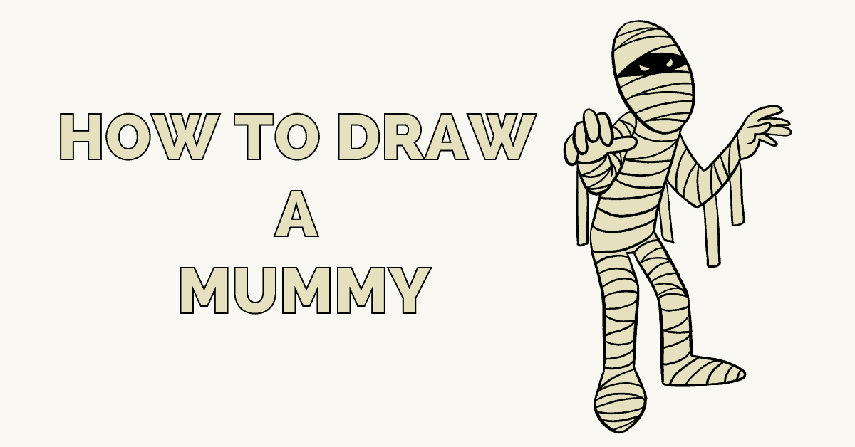 How to Draw a Mummy Featured image