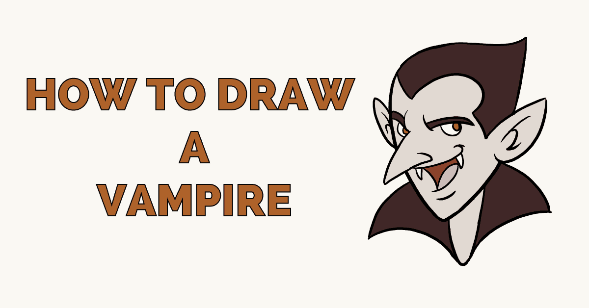 How to Draw a Vampire Featured image