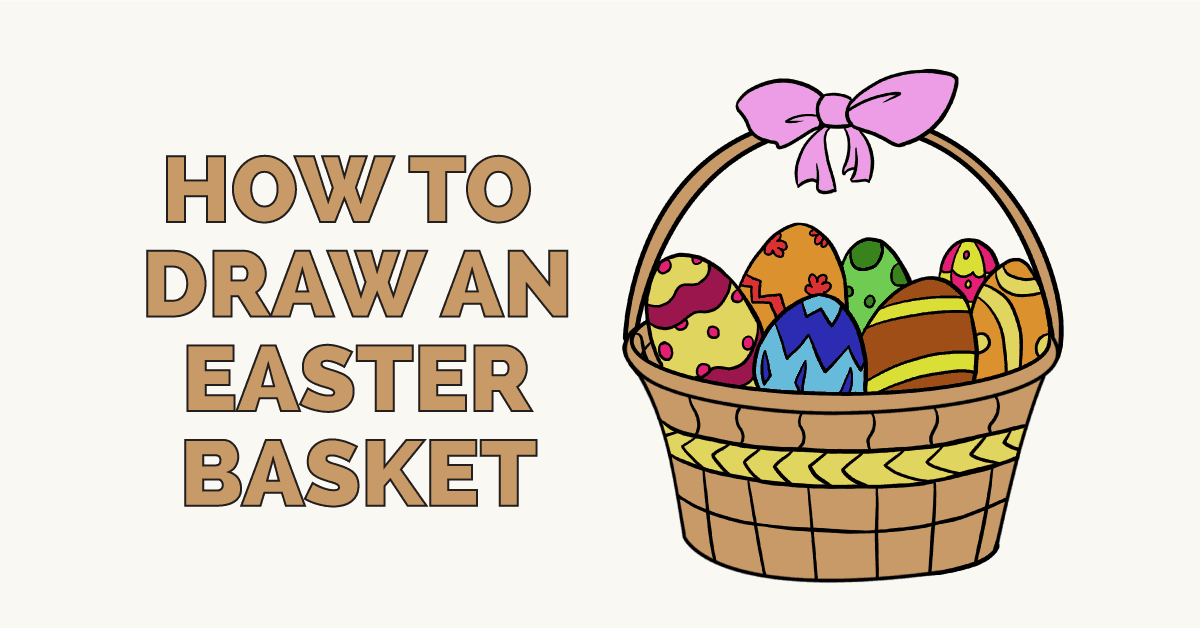 How to draw an Easter Basket Featured Image