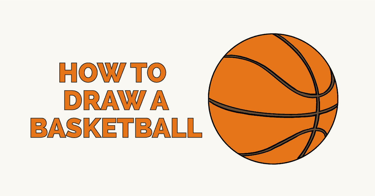 How to Draw a Basketball: Featured Image