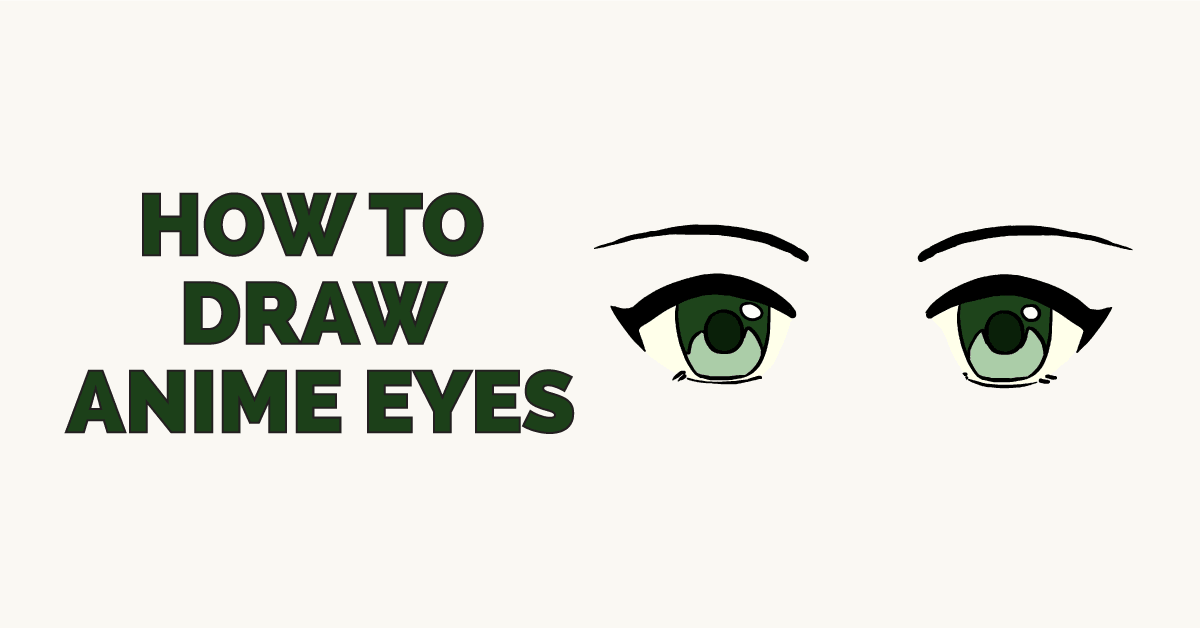 How to Draw Anime Eyes: Featured Image