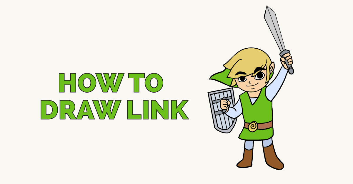 How to Draw Link: Featured Image