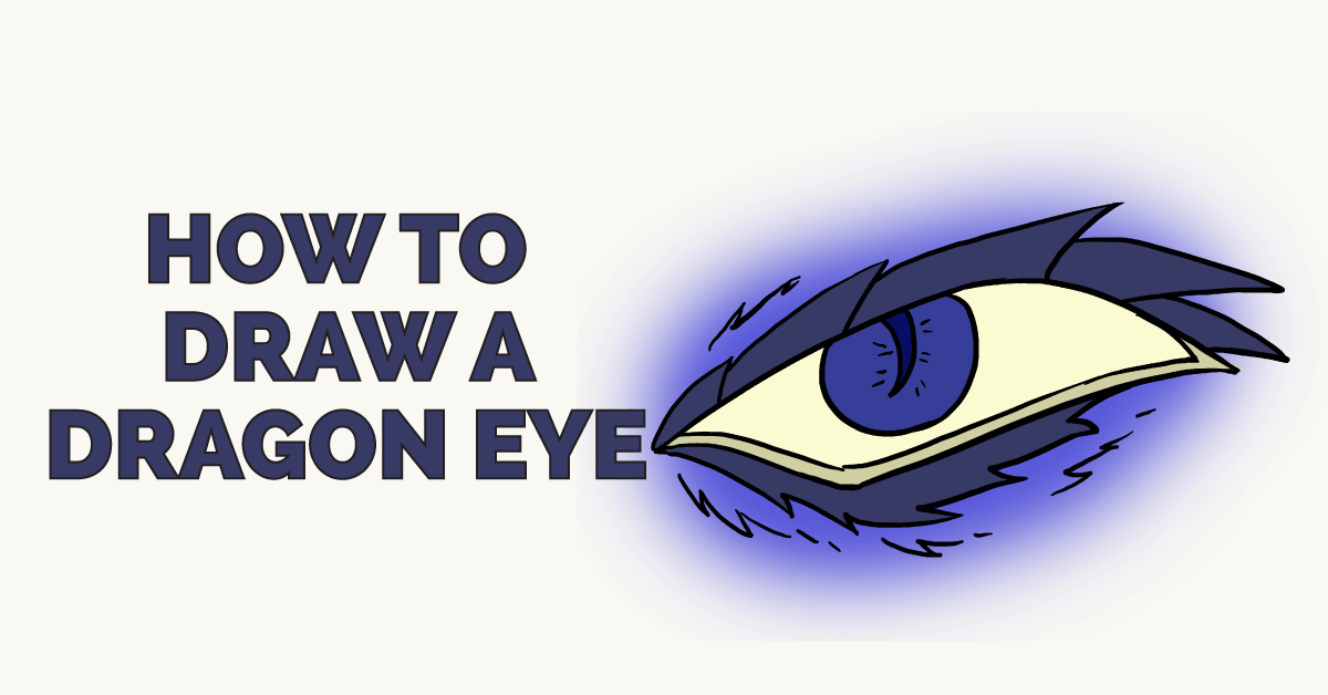 How to Draw a Dragon Eye: Featured Image