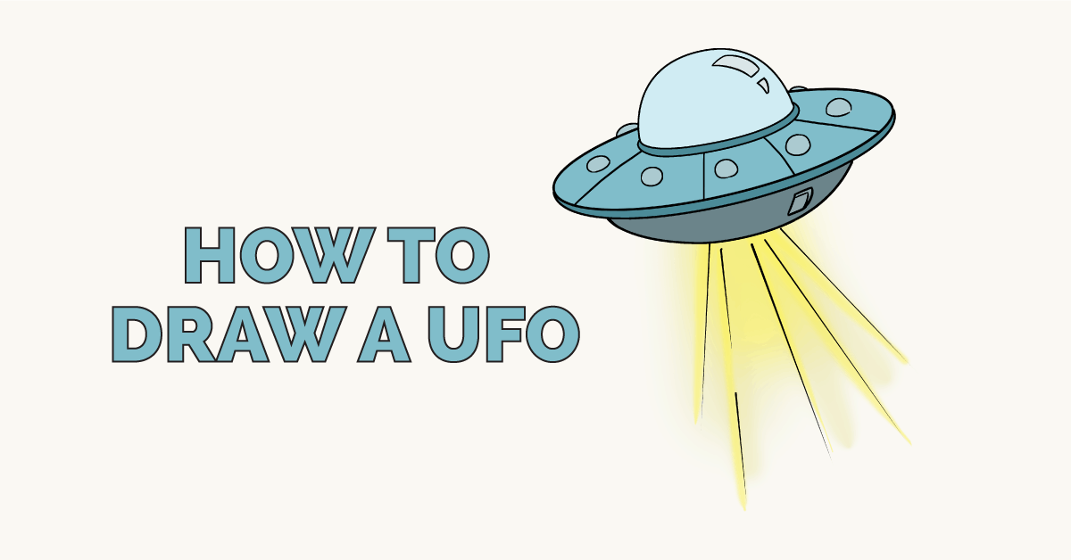 How to Draw a UFO: Featured Image