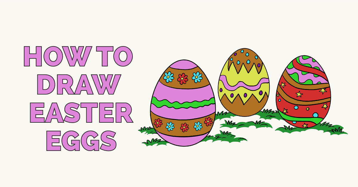 How to Draw Easter Eggs: Featured image