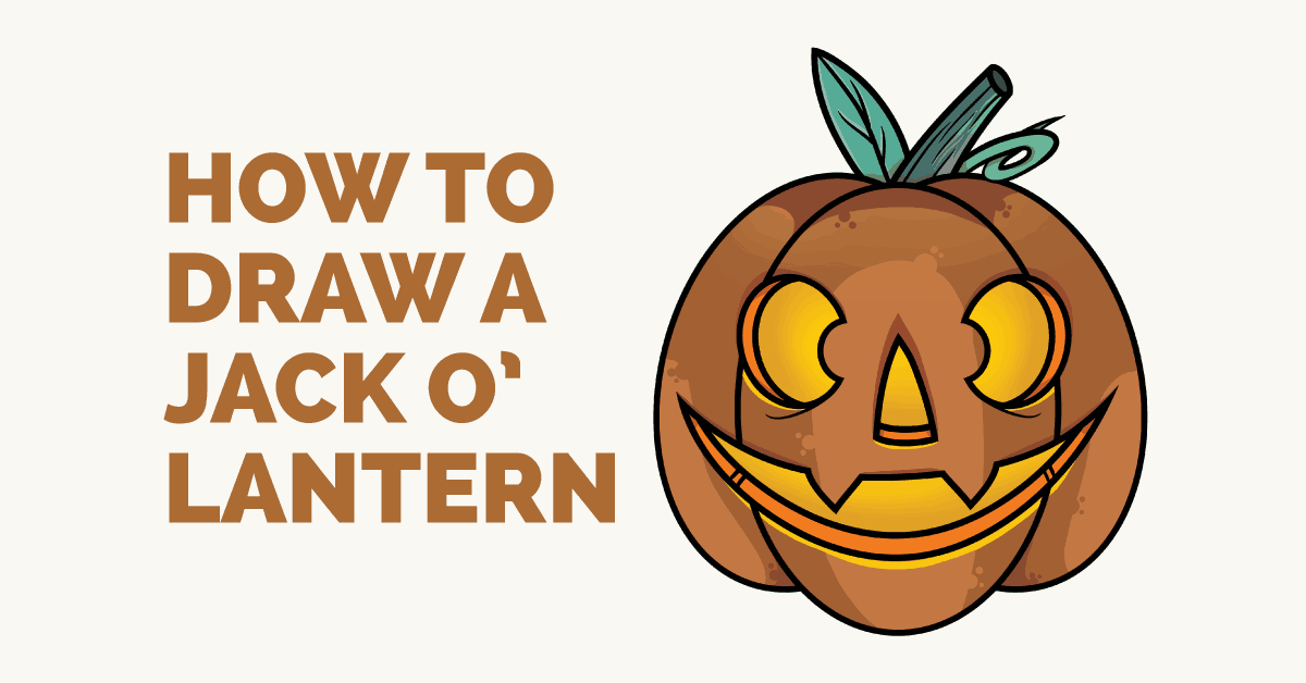 How to draw a jack o'lantern: Featured image