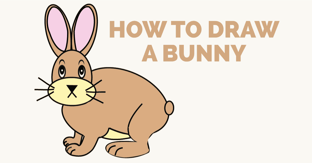 How to draw a bunny rabbit: Featured image