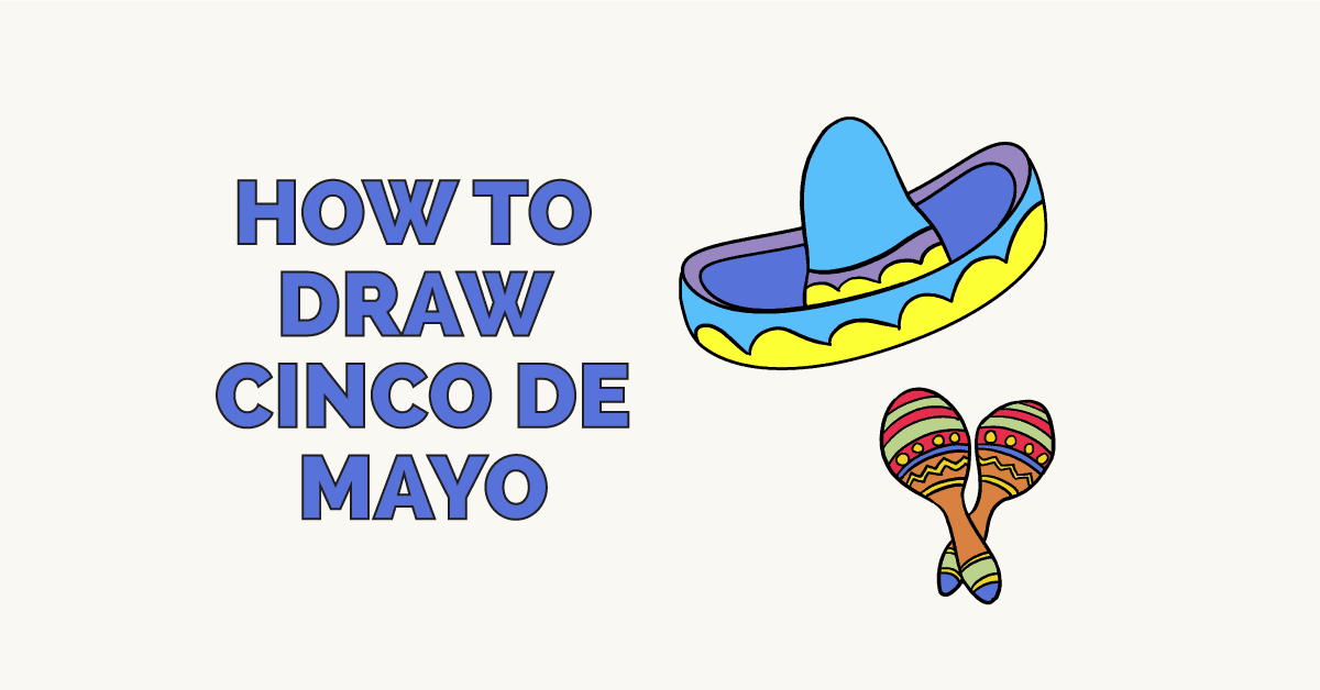 How to Draw Cinco de Mayo: Featured Image