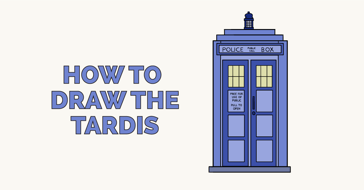 How to Draw the Tardis: Featured Image