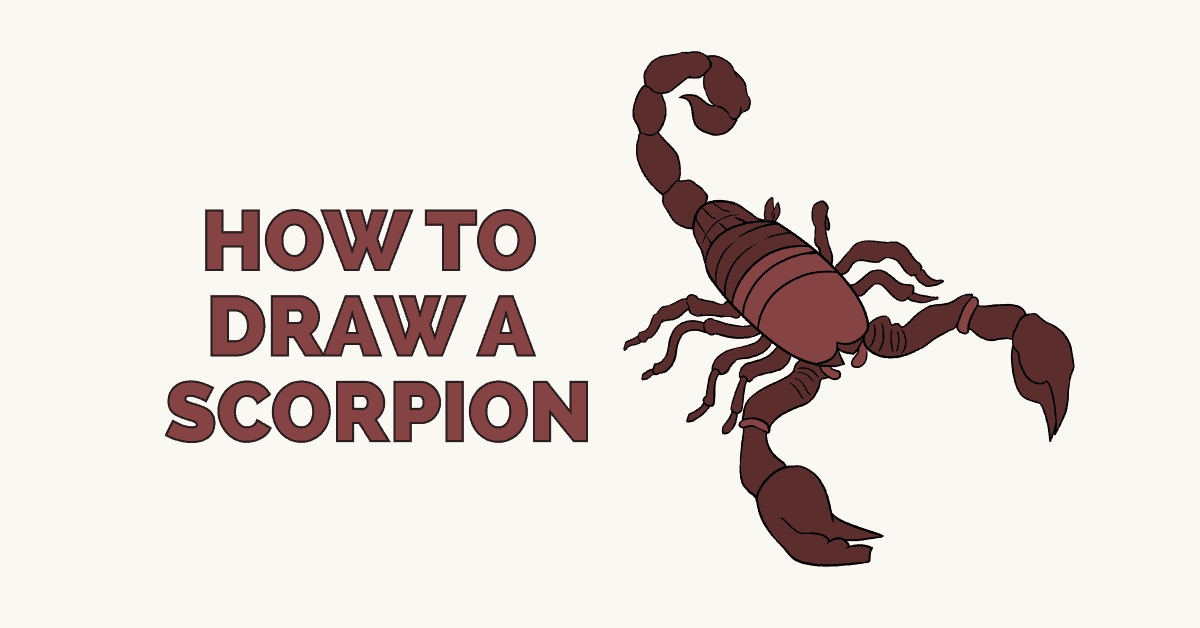 How to Draw a Scorpion: Featured image