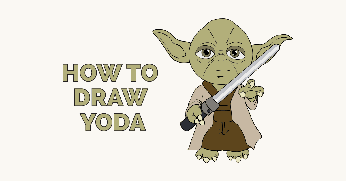 How to Draw Yoda from Star Wars: Featured image