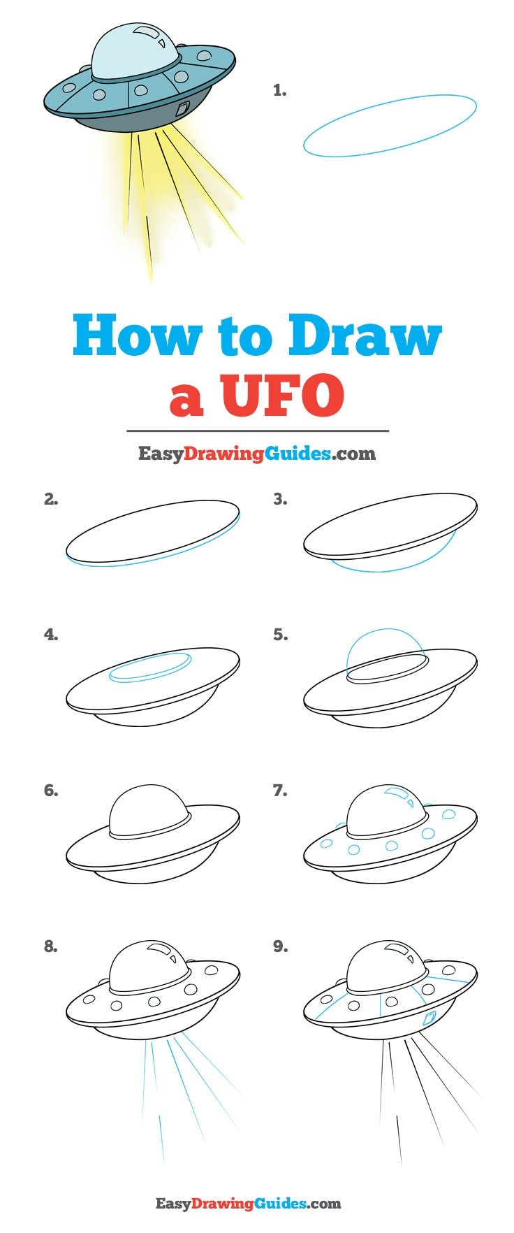 How to Draw UFO