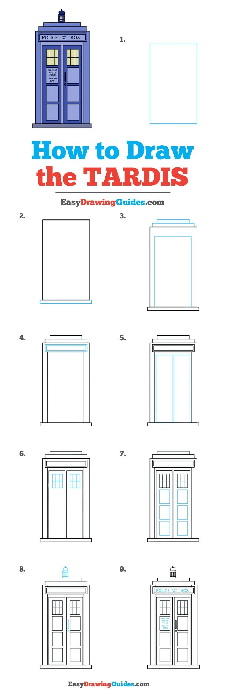 How to Draw Tardis
