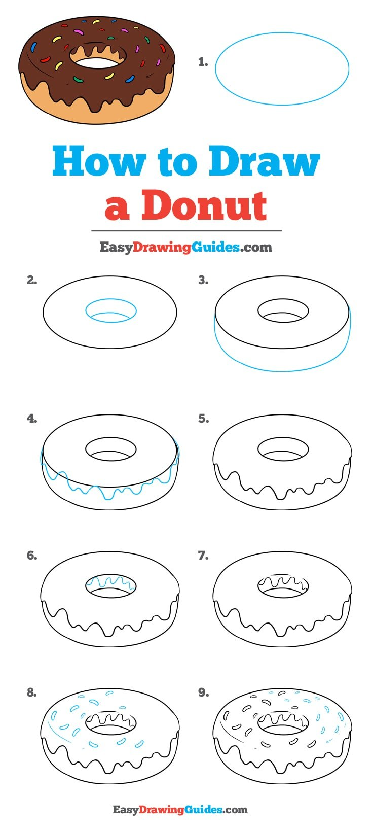 How to Draw Donut
