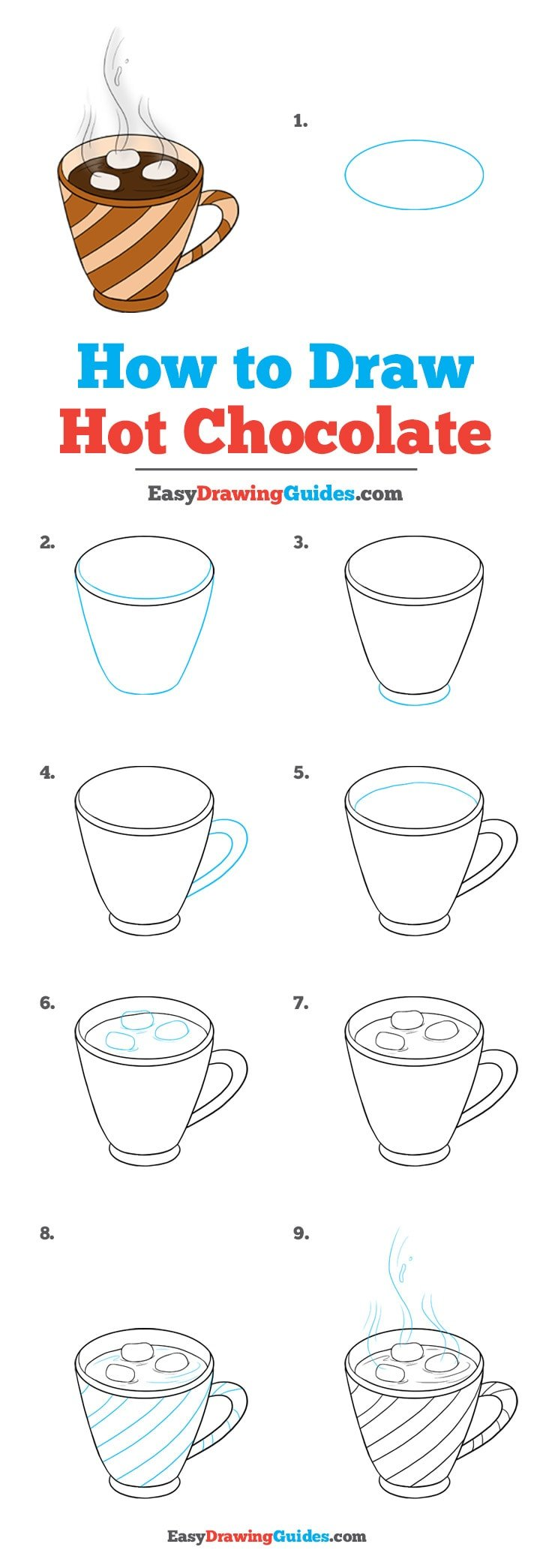 How to Draw Chocolate: Step by Step Tutorial