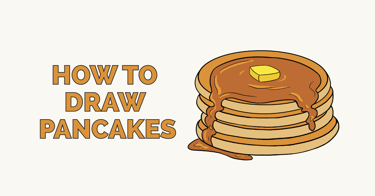 How to Draw Pancakes: Featured Image