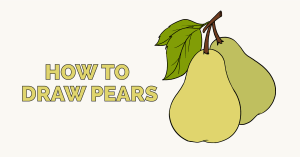 How to Draw Pears: Featured Image