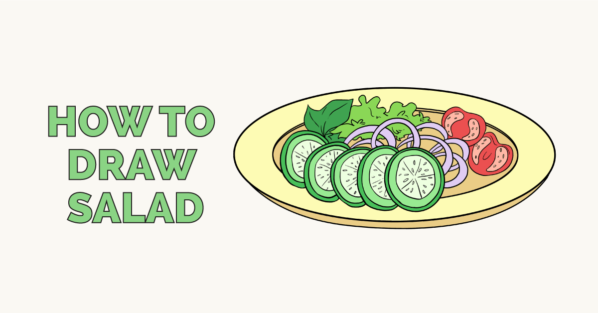 How to Draw Salad: Featured Image