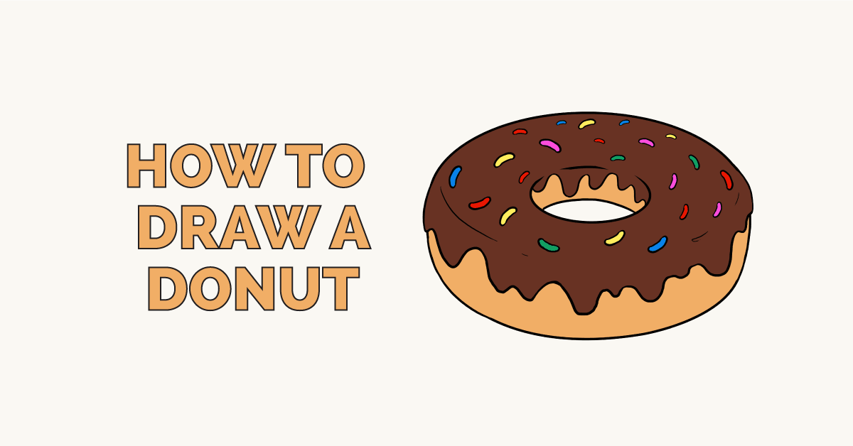 How to Draw a Donut: Featured Image