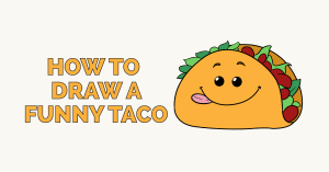 How to Draw a Funny Taco: Featured Image