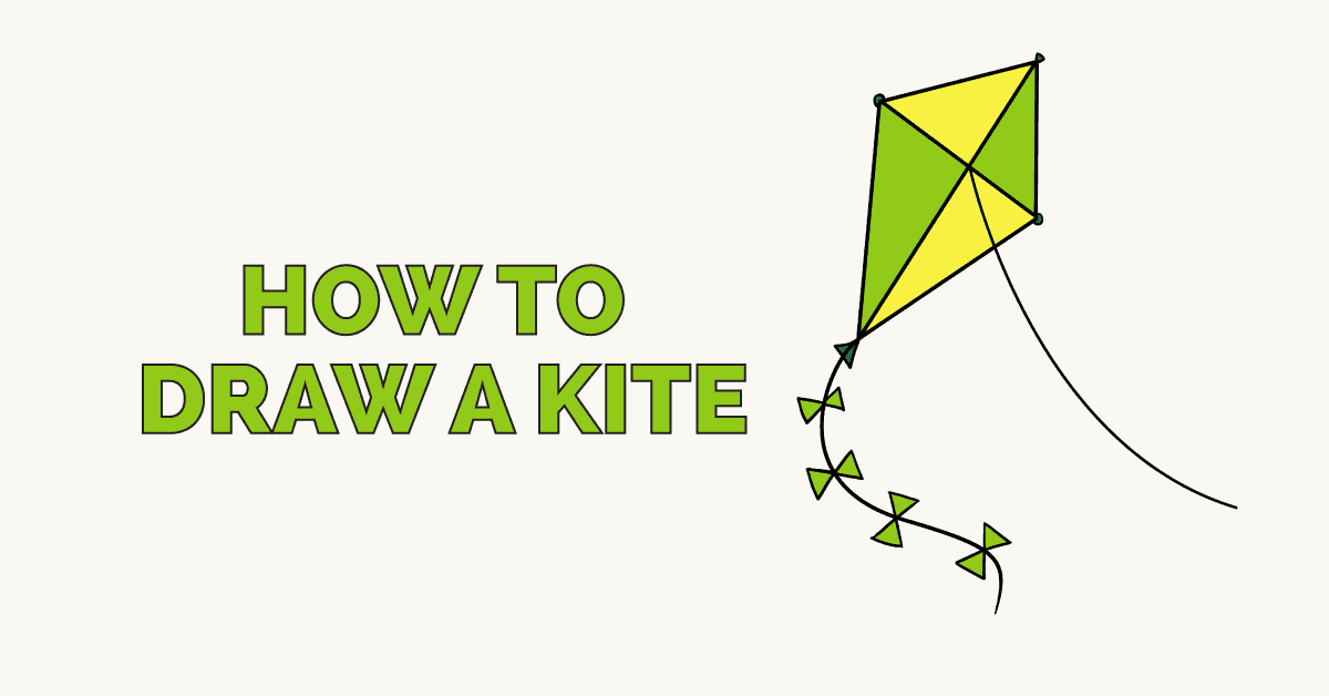 How to Draw a Kite: Featured Image