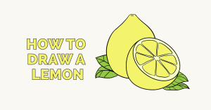 How to Draw a Lemon: Featured Image