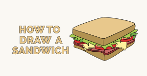 How to draw sandwich: Featured image