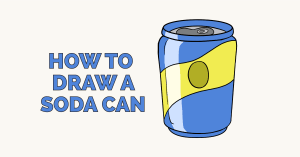 How to Draw a Soda Can: Featured Image