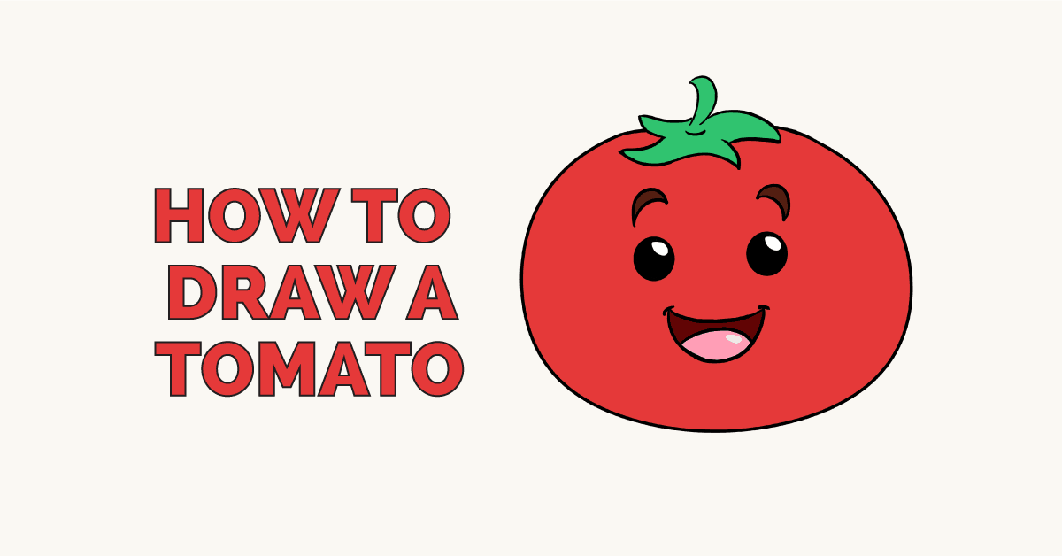 How to Draw a Tomato: Featured Image