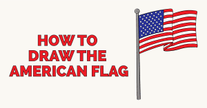 How to Draw the American Flag: Featured Image
